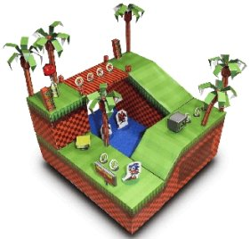 3D Green Hill Zone